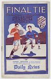 FA 1927 Cup Final programme
