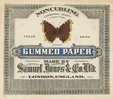 Gummed Paper, made by Samuel Jones & Co Ltd, London
