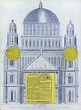 Elevation of St Paul's Cathedral