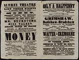 Playbill issued by Surrey Theatre