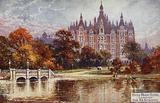 Hyde Park Hotel, London, from the Serpentine