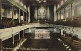 Interior of the City Temple, Holborn Viaduct, London