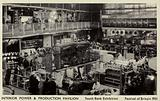 Interior of the Power and Production Pavilion at the Southbank Exhibition of the Festival of Britain in 1951