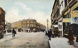 Pembridge Road and Kensington Park Road, London