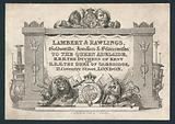 Lambert & Rawlings, goldsmiths, jewellers & silversmiths, trade card