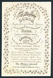 Burch, importer of Irish linens, trade card