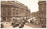 View down Regent Street from Oxford Circus