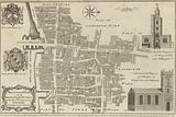 Map of Billingsgate and Bridge wards, London