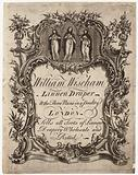 Linen Draper, William Wiseham, trade card