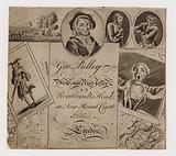 Map and printseller, George Pulley, trade card
