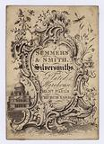Silversmiths, Summers & Smith, trade card