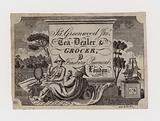 Tea Dealer and Grocer, James Greenwood, trade card