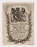 Tea Man, Edmund Antrobus, trade card