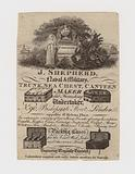 Trunk Maker, J Shepherd, trade card