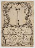 Glovers, George Veale, trade card