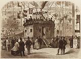 The Car of Nadar's Balloon, 1863