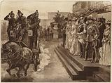 The German Emperor's Visit, Review of the Fire Brigades, 1891