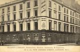 Mudie's Library, Booksellers, Binders, Stationers, Exporters, 30–34 New Oxford Street, London WC