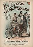 Marie Lloyd's Latest Success, Salute My Bicycle!