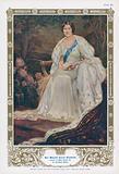 Queen Elizabeth, consort of King George VI and mother of Queen Elizabeth II