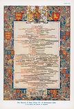 Genealogical table of the Kings and Queens of England