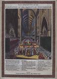 Coronation of his Majesty [ie George III] at Westminster