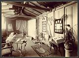 Photographic studio, presumably that of Messrs Dorrett & Martin in Croydon, London