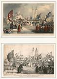 The Ceremony of Opening London Bridge 1 August 1831