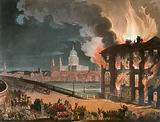 Fire in London. Published 1 September 1808