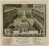 Trial of Warren Hastings in Westminster Hall