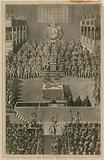 King Charles I before the High Court of Justice at Whitehall, 1648