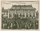 Execution of king Charles I at Whitehall