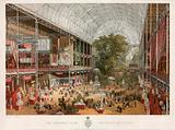 The Transept from the Grand Entrance, Great Exhibition, 1851