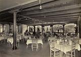 Marine Hotel, Dining room, 1920