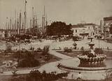 Bridgetown Harbour, circa 1900