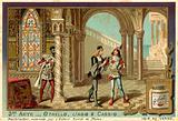 Othello Overhears Iago and Cassio