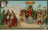 Haroun-al-Rashid Receives Charlemagne's Ambassadors
