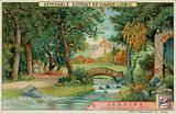 An English Garden of 1800s