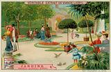 A Public Garden of 1900s