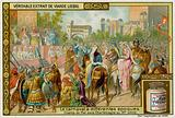Champ de Mai Festival Under Charlemagne in the 9th Century