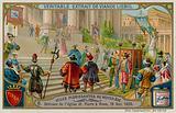 Dedication of St Peter's Basilica in Rome 1626
