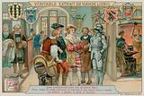 A Prince Visits the Workshop of an Armourer to Inspect the Work of a Furrier, a Saddler and an Armourer