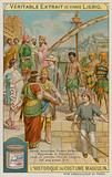 Greeks, Assyrians, Persians, Hebrews, Egyptians and Phrygiens in a Port at Cyprus BC 327