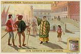 Shylock, Bassanio and Antonio