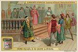 The Arrest of Shylock and the Release of Antonio