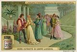 Reunion of the Lovers in Portia's Gardens