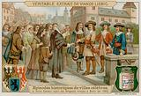 The Grand Elector Issues the Edict of Potsdam in 1685 Allowing Exiled French Protestants into Berlin