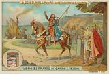 Sir Parsifal leaves for his quest