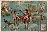 Carlo Goldoni in The Venetian Gondolier or the Lover's Scorn