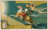 The angel Gabriel brings Muhammed a vision of Allah